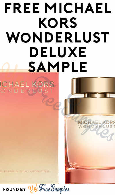 FREE Michael Kors Wonderlust Deluxe Sample