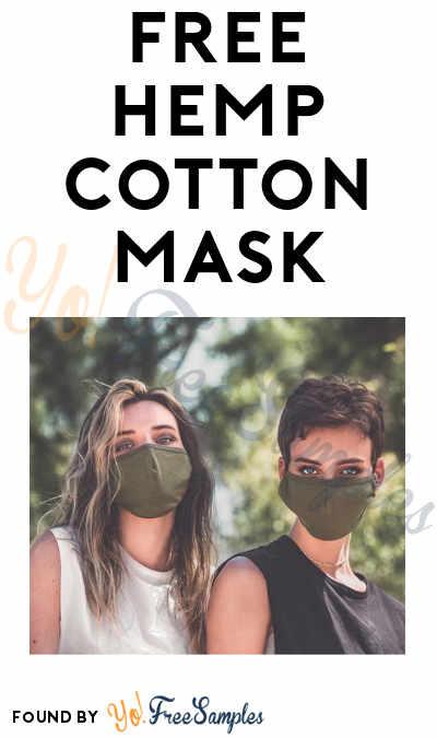 FREE Drihp Hemp & Cotton Face Mask