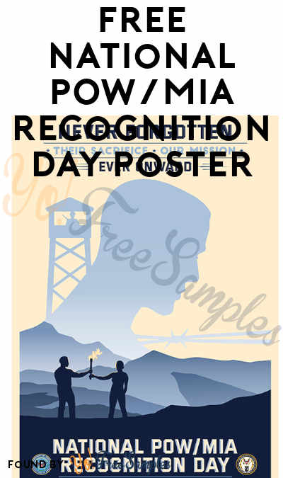 FREE National POW/MIA Recognition Day Posters