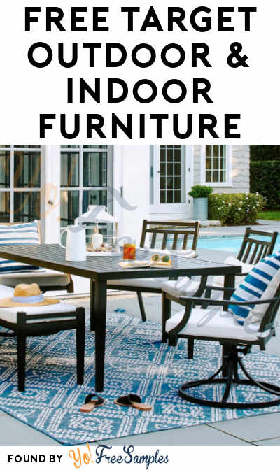 FREE Target Outdoor & Indoor Furniture At BzzAgent (Must Apply)