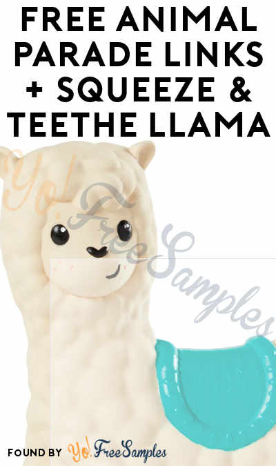 Possible FREE Infantino Animal Parade Links + Squeeze & Teethe Llama (Must Apply)