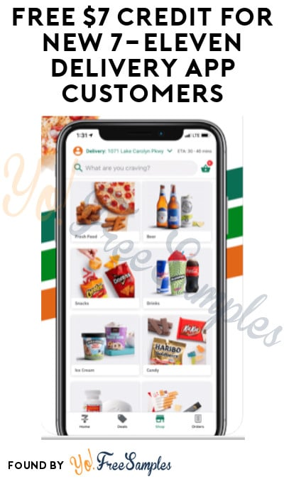 FREE $7 Credit for New 7-Eleven Delivery App Customers (Code Required)
