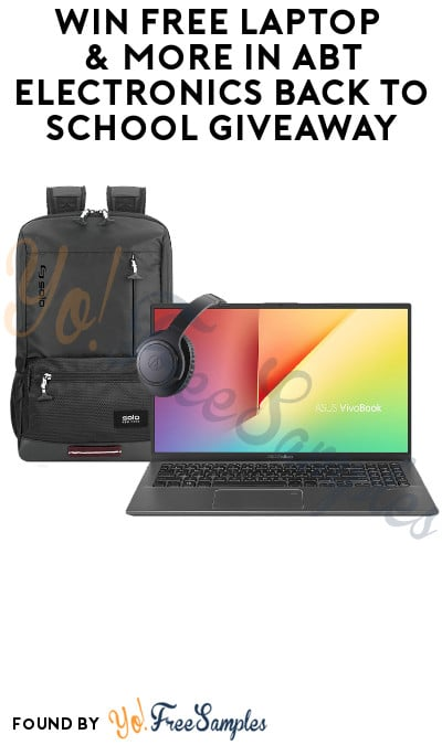 Win FREE Laptop & More in Abt Electronics Back To School Giveaway