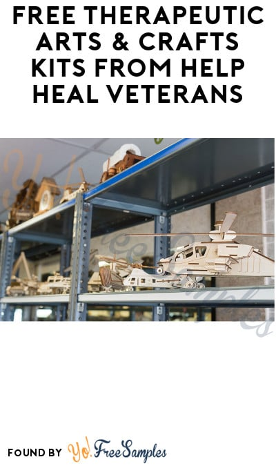 FREE Therapeutic Arts & Crafts Kits from Help Heal Veterans (Proof of Service Required)