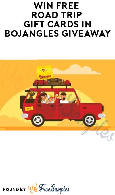 Win FREE Road Trip Gift Cards in Bojangles Giveaway