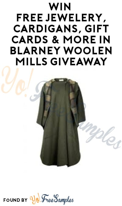Win FREE Jewelery, Cardigans, Gift Cards & More in Blarney Woolen Mills Giveaway