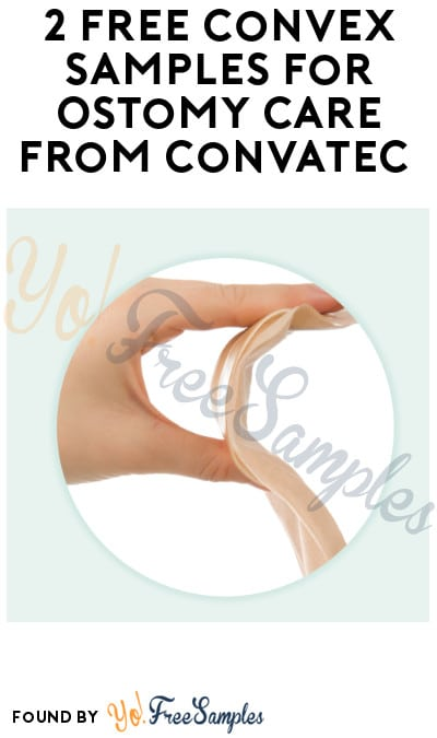 2 FREE Convex Samples for Ostomy Care from ConvaTec