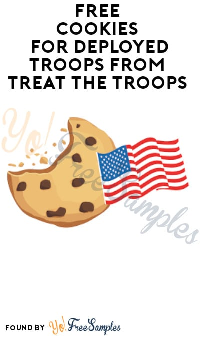 FREE Cookies for Deployed Troops from Treat The Troops