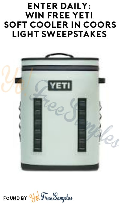 Enter Daily: Win FREE Yeti Soft Cooler in Coors Light Sweepstakes (Ages 21 & Older Only)