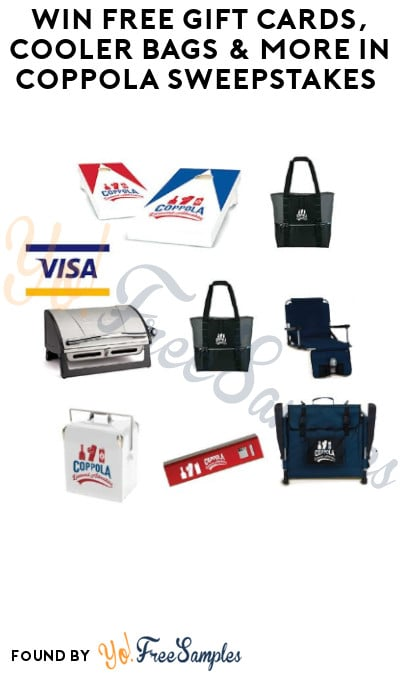 Win FREE Gift Cards, Cooler Bags & More in Coppola Sweepstakes (Ages 21 & Older only)