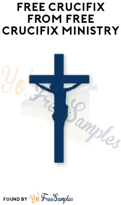 FREE Crucifix from Free Crucifix Ministry (Parish Name Required)