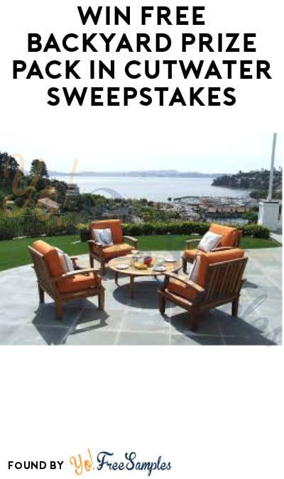 Win FREE Backyard Prize Pack in Cutwater Sweepstakes (Select States + Ages 21 & Older Only)