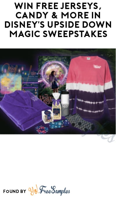 Win FREE Jerseys, Candy & More in Disney's Upside Down Magic Sweepstakes