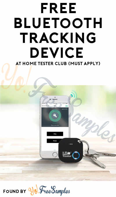 FREE Bluetooth Tracking Device At Home Tester Club (Must Apply)