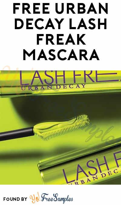 FREE Urban Decay Lash Freak Mascara (Facebook Required)