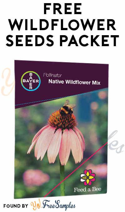 FREE Wildflower Seeds Packet