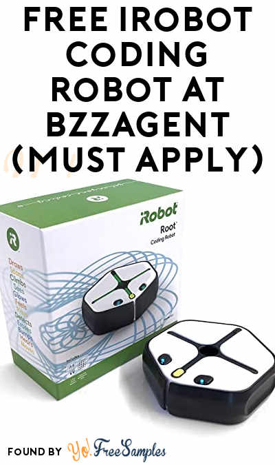 FREE iRobot Coding Robot At BzzAgent (Must Apply)