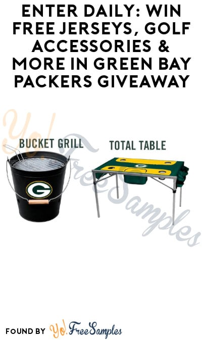 Enter Daily: Win FREE Jerseys, Golf Accessories & More in Green Bay Packers Giveaway