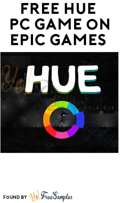 FREE Hue PC Game on Epic Games (Account Required)