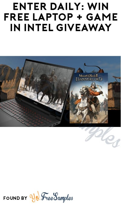 Enter Daily: Win FREE Laptop + Game in Intel Giveaway