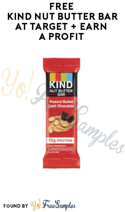 FREE KIND Nut Butter Bar at Target + Earn A Profit (Target Circle & Ibotta Required)