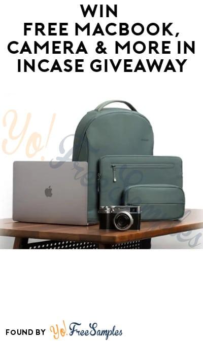Win FREE Macbook, Camera & More in Incase Giveaway