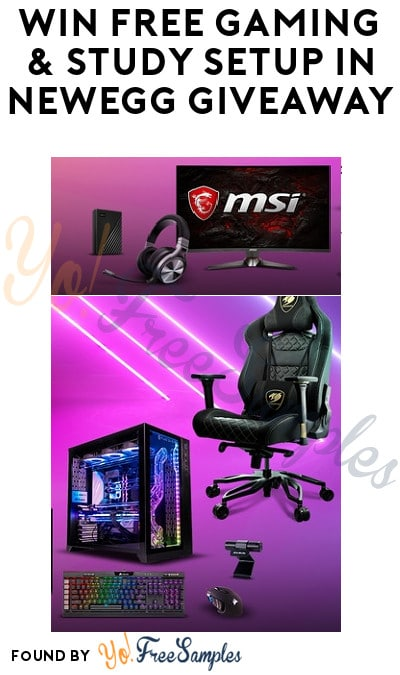 Win FREE Gaming & Study Setup in Newegg Giveaway