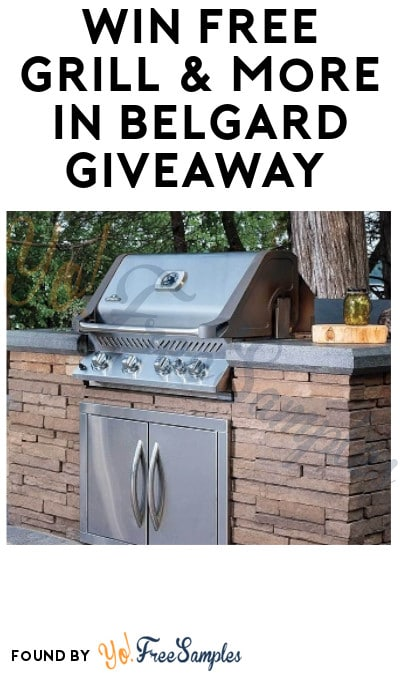 Win FREE Grill & More in Belgard Giveaway