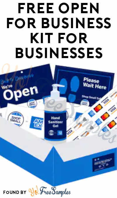 FREE Open for Business Kit For Businesses