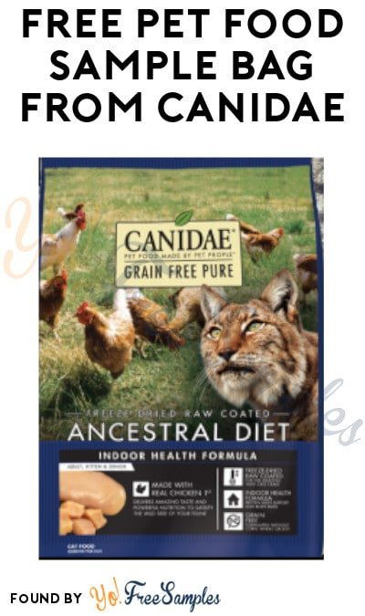 FREE Pet Food Sample Bag from Canidae