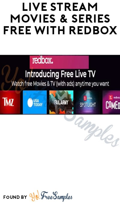 Live Stream Movies & Series FREE with Redbox