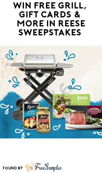 Win FREE Grill, Gift Cards & More in Reese Sweepstakes