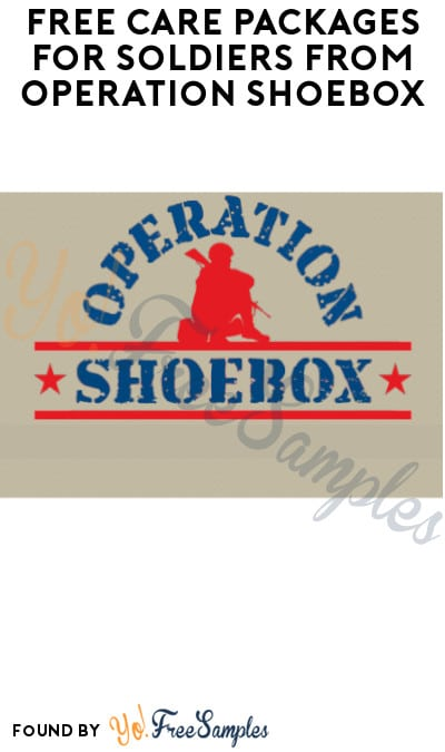 FREE Care Packages for Soldiers from Operation Shoebox