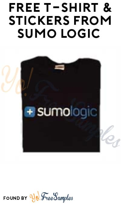 FREE T-shirt & Stickers From Sumo Logic (Businesses Only)