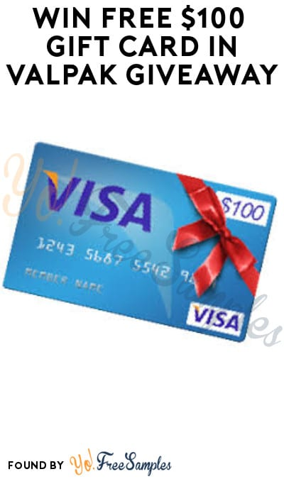 Win FREE $100 Gift Card in Valpak Giveaway