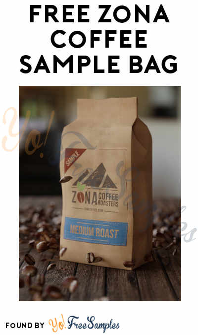 FREE Zona Coffee Sample Bag