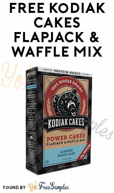 FREE Kodiak Cakes Flapjack & Waffle Mix
