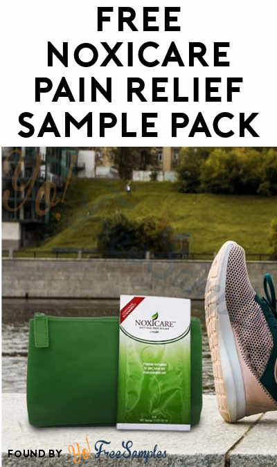 FREE Noxicare Pain Relief Sample Pack