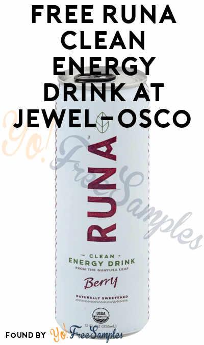 FREE Runa Clean Energy Drink At Jewel-Osco