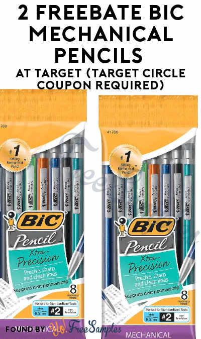 2 FREEBATE BIC Mechanical Pencils at Target (Target Circle Coupon Required)