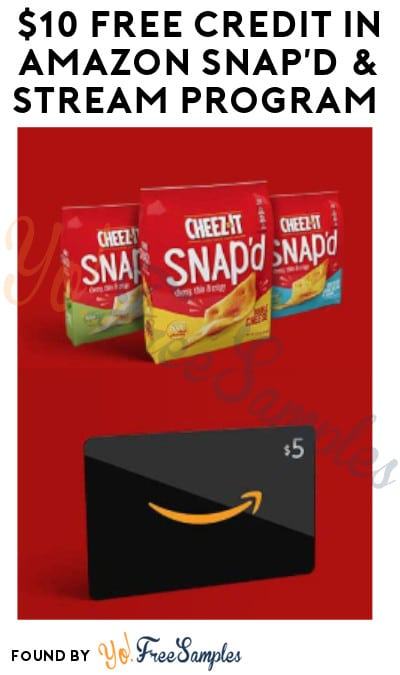 $10 FREE Credit in Amazon Snap'd & Stream Program (Must Enroll)
