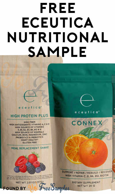 FREE Eceutica Nutritional Sample