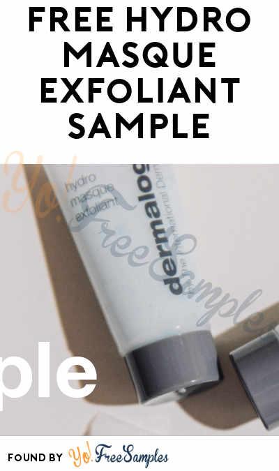 FREE Dermalogica Hydro Masque Exfoliant Sample