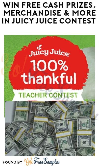 Win FREE Cash Prizes, Merchandise & More in Juicy Juice Contest