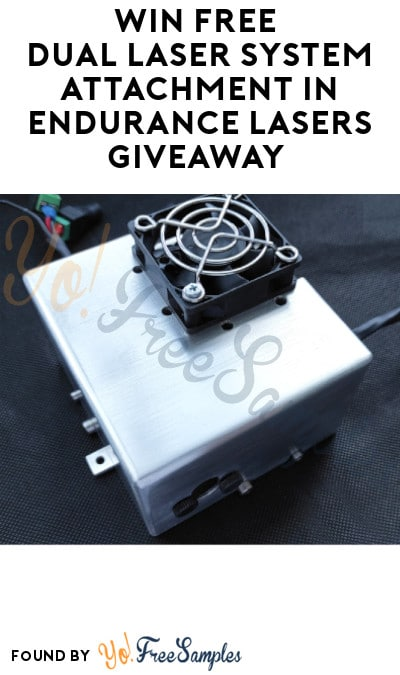 Win FREE Dual Laser System Attachment in Endurance Lasers Giveaway