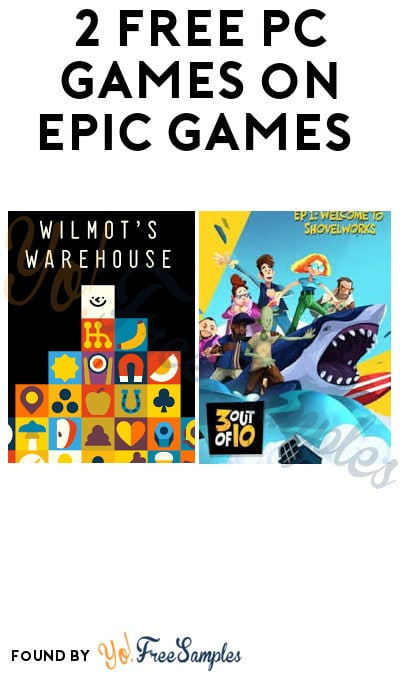 2 FREE PC Games on Epic Games (Account Required)