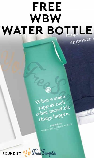 FREE WBW 2020 Water Bottle