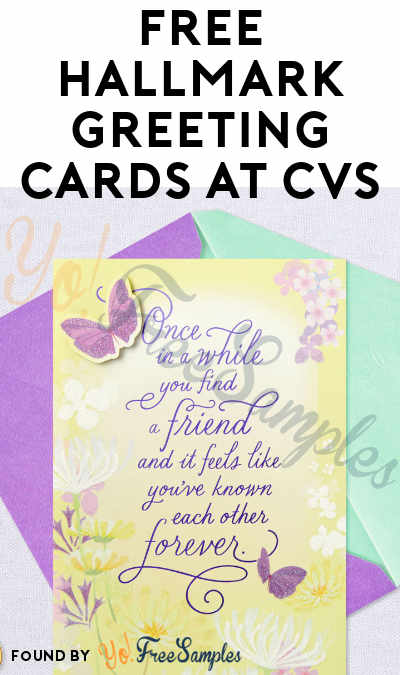 2 FREE Hallmark Greeting Cards At CVS (Coupon Required)