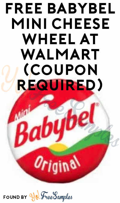 FREE Babybel Mini Cheese Wheel at Walmart (Coupon Required)