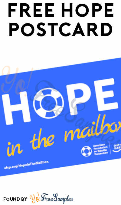 FREE Hope Postcard